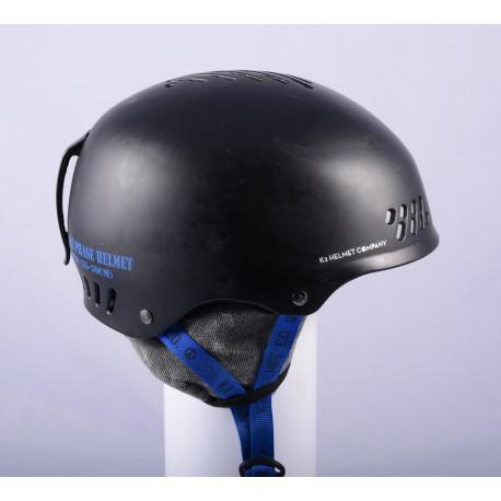 lyžiarska/snowboardová helma K2 PHASE, BLACK/blue, nastaviteľná