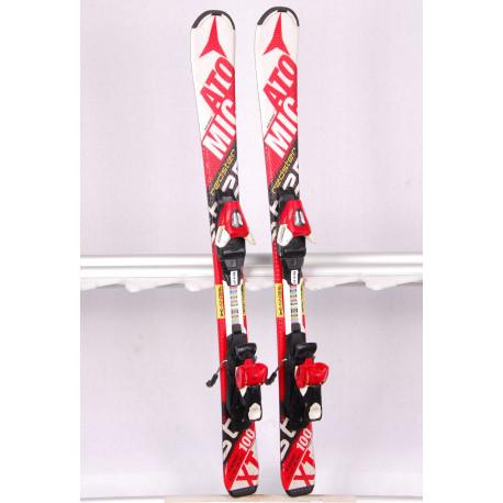 children's/junior skis ATOMIC REDSTER XT bend-X WHITE, race rocker + Atomic XTE 7