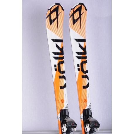 skis VOLKL CODE 7.4 orange, FULL sensor WOODcore, TIP rocker + Marker FDT 10 ( en PARFAIT état )