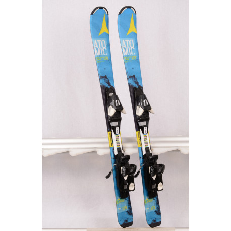 detské/juniorské lyže ATOMIC VANTAGE SERIES junior, BLUE/yellow + Atomic EZYtrak 7