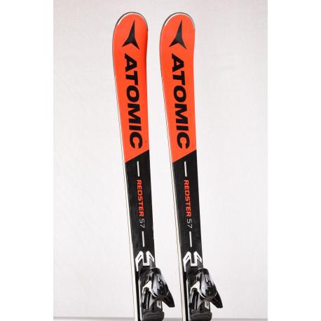 skidor ATOMIC REDSTER S7 2019 woodcore, titanium + Atomic XT 12