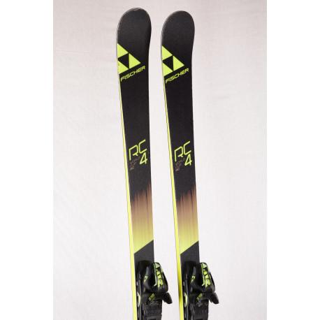 esquís FISCHER RC4 WORLDCUP RC, titan, woodcore + Fischer RC4 Z12 ( Condición TOP )