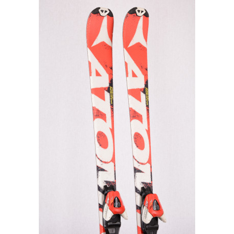 children's/junior skis ATOMIC REDSTER, piste rocker + Atomic XTE 7