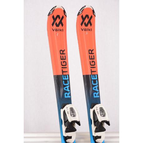 children's/junior skis VOLKL RACETIGER GS Jr. vMOTION, TIP rocker + Marker 4.5 ( TOP condition )