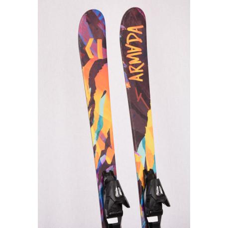 esquís niños ARMADA BANTAM J 2019, FREESTYLE, TWINTIP + Armada 4.5 ( Condición TOP )