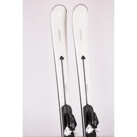 skis femme ATOMIC CLOUD SELECT 2019 SERVOTEC, light woodcore, titanium + Atomic X 12 TL ( en PARFAIT état )