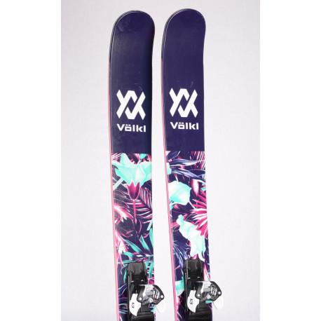 freeride skis VOLKL BASH 116 W, FULL ROCKER, MULTI Layer Woodcore + Salomon Warden 11 ( like NEW )