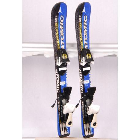 detské/juniorské lyže ATOMIC SX 7 SUPERCROSS + Atomic R045