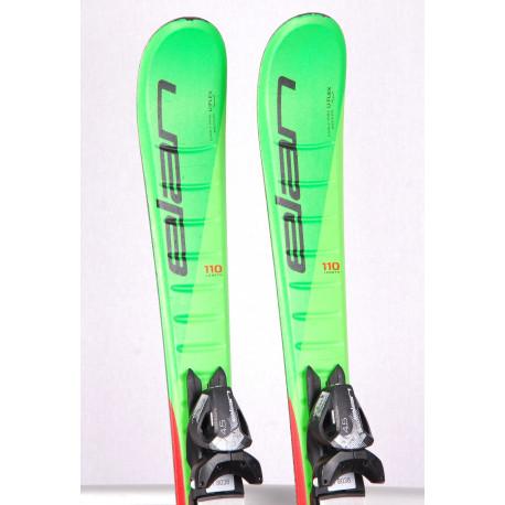 detské/juniorské lyže ELAN JETT 2021 U-FLEX, FIBREGLASS, FULL POWER CAP, SYNFLEX + Elan 4.5