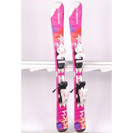 detské/juniorské lyže ELAN SKY QS, U-FLEX,FIBREGLASS, FULL POWER CAP, SYNFLEX + Elan 4.5