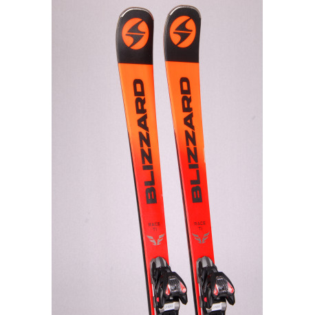 skis BLIZZARD FIREBIRD RACE Ti 2019, Double Woodcore, Carbon, Titan + Marker TPX 12 ( TOP condition )