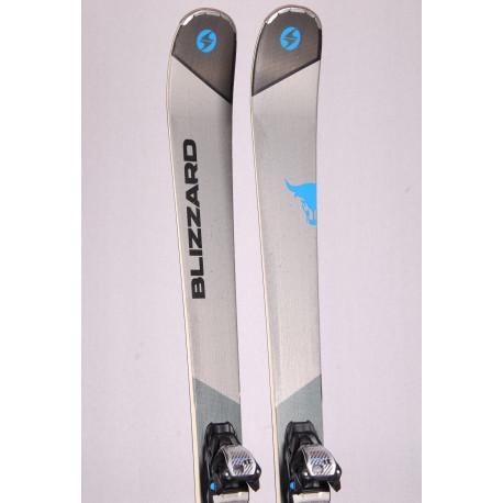 freeride skis BLIZZARD BRAHMA CA SP woodcore, carbon, handmade + Marker 11 TCX