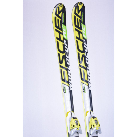 lyže FISCHER RC4 WORLDCUP RC FREQUENCY TUNING, ft frame, aircarbon titanium + Fischer FR 17