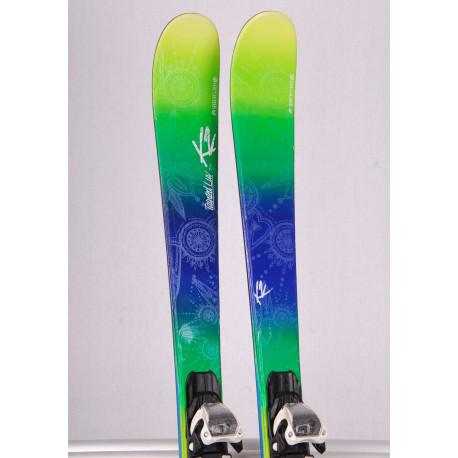 dámske lyže K2 TAINTED LUV 74, speed rocker, all mountain + Marker 10 ( TOP stav )