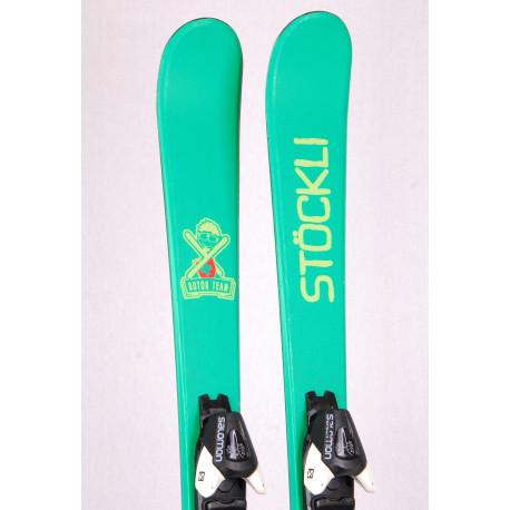 children's/junior skis STOCKLI ROTOR TEAM, FREESTYLE, TWINTIP + Salomon Z7