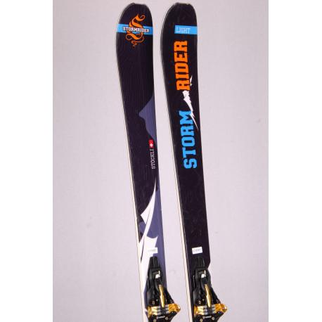 touring freeride skis STOCKLI STORMRIDER LIGHT + Marker KINGPIN 10 + touring skins ( TOP condition )