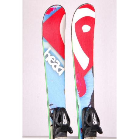 children's/junior skis HEAD THE JR. CADDY, FREESTYLE, TWINTIP + Tyrolia SP 10