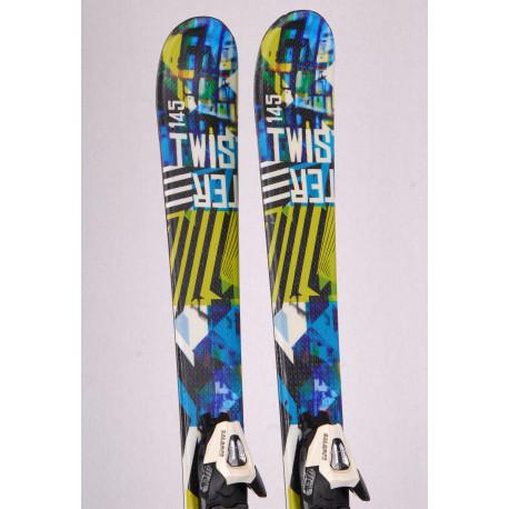 detské/juniorské lyže STUF TWISTER JR., FREESTYLE, TWINIP + Salomon CS 4.5