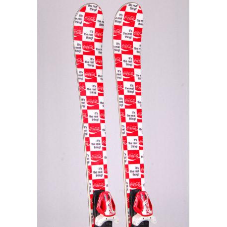 skis BOMBER COCA COLA, Woodcore, Titanium, Luxury line special edition + Tyrolia PRO 12
