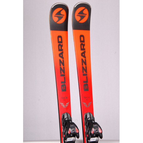 skis BLIZZARD FIREBIRD RACE Ti 2019, Double Woodcore, Carbon, Titan + Marker TPX 12 ( used ONCE )