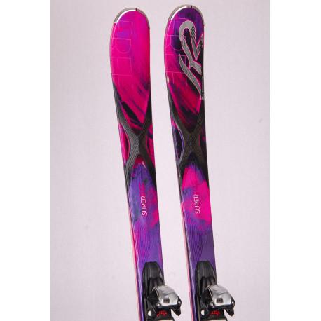 dámske lyže K2 SUPERFREE, woodcore, at rox technology, triaxial braid, hybritech sidewall + Marker 10