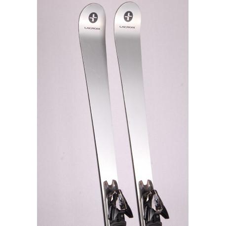 skis LACROIX CARBON TRACER, woodcore, titanal, kevlar, carbon + Lacroix 12 ( TOP condition )
