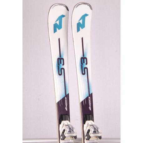 dámske lyže NORDICA SENTRA S3, energy carbon, woodcore + Marker TPC 10