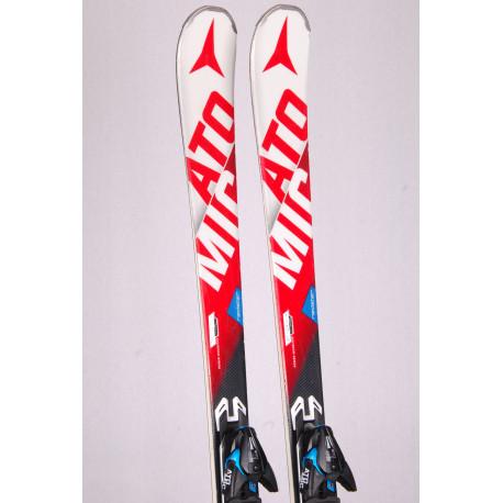 skis ATOMIC REDSTER edge GS, race rocker, power woodc. Titanium powered, handmade + Atomic XT 12 TL