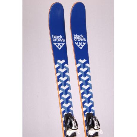 freeride skis BLACK CROWS OVA, woodcore, titan + Tyrolia PRO 12 black