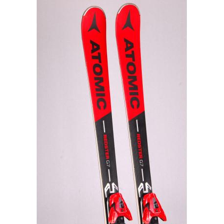 skis ATOMIC REDSTER G7 2019 woodcore, titanium + Atomic XT 12