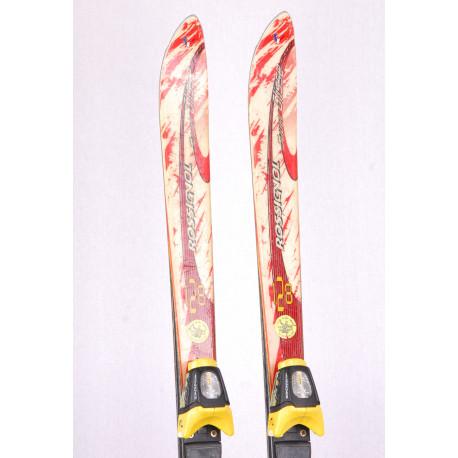 children's/junior skis ROSSIGNOL SUPER GLISSE, torsion box + Rossignol FDT 4.5