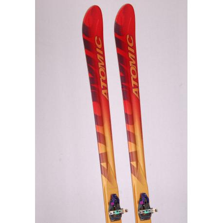 touring skis ATOMIC AMBITION, high densolite core + Kneissl Tour tech 10 + touring skins
