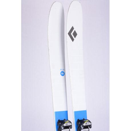 skialp freeride lyže BLACK DIAMOND HELIO 105, Woodcore, Carbon + Marker Tour F12 + Pásy