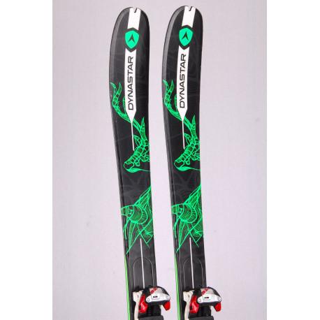 skialp freeride lyže DYNASTAR VERTICAL, woodcore+ Marker Tour F10 + Pásy ( TOP stav)