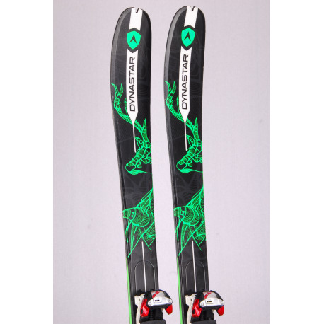 touring freeride skis DYNASTAR VERTICAL, woodcore+ Marker Tour F10 + touring skins ( TOP condition)