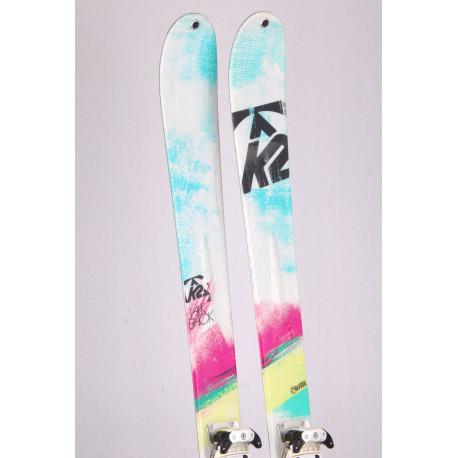 touring freeride skis K2 TALKBACK, all terrain rocker + Tyrolia Ambition 12 + touring skins ( TOP condition )