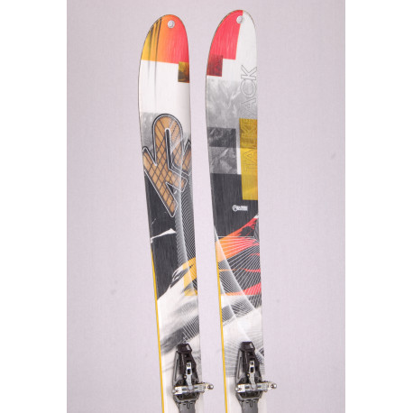 touring freeride skis K2 TALKBACK 96, all terrain rocker + Dynafit ST 10 + touring skins