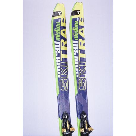 touring freeride skis SKITRAB MISTICO, duo tech, prosgressive shape, carbon torsion control + Marker Kingpin 13