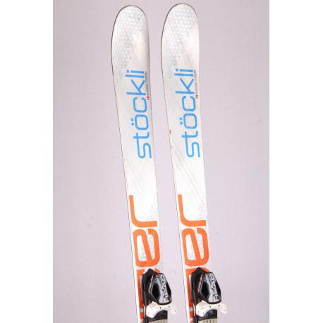 freeride skis STOCKLI STORMRIDER 88 SILV/ORANG, titan, woodcore + Head PRD 12