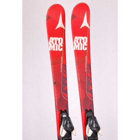 skis ATOMIC ETL, all mountain rocker, BEND-X, RED + Atomic XTE 7
