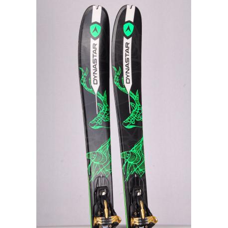 skialp freeride lyže DYNASTAR VERTICAL, woodcore + Marker Kingpin 10 + Pásy ( TOP stav)