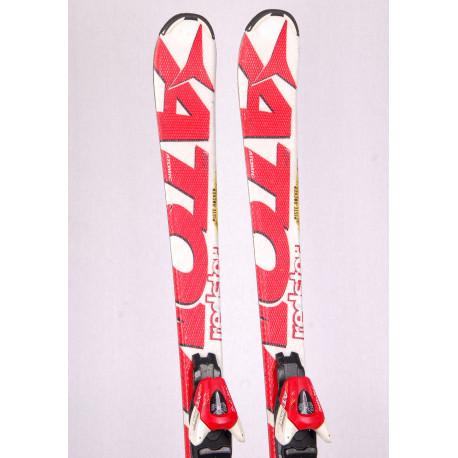 detské/juniorské lyže ATOMIC REDSTER, WHITE, piste rocker, handmade + Atomic XTE 7 red/white