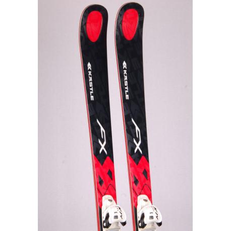 skis KASTLE FX 84 black, WOODCORE, TITANIUM + Marker K14 Cti