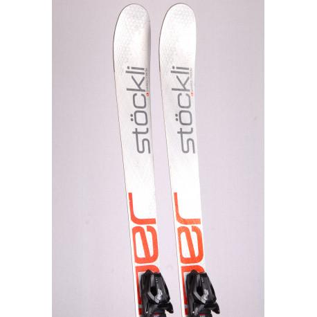 freeride skis STOCKLI STORMRIDER 83 SILV/RED, titan, woodcore + Tyrolia 12 ( TOP condition )