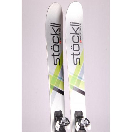 freeride skis STOCKLI STORMRIDER 105 SILV/GR 2019 + Salomon Warden 11 ( like NEW )