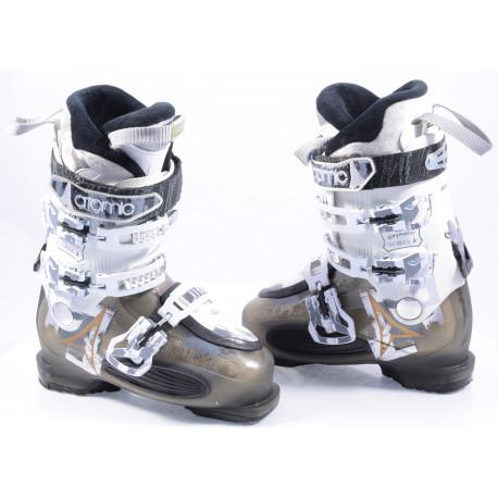 buty narciarskie damskie ATOMIC WAYMAKER 80 plus, SKI/WALK, anatomic medium fit, comfort, transp black/white