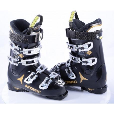 dámske lyžiarky ATOMIC HAWX MAGNA RS 70 W, THINSULATE, EZ STEP in, ATOMIC BRONZE, BLACK/gold