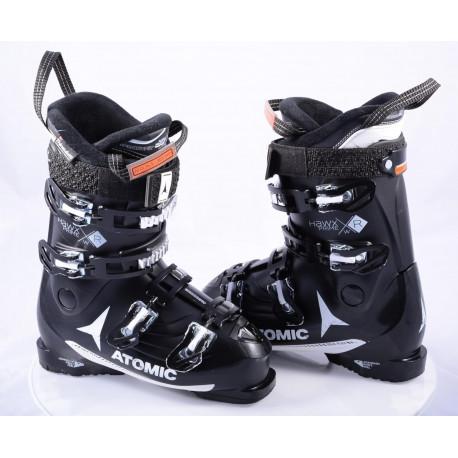 dámske lyžiarky ATOMIC HAWX PRIME R 90 W, MEMORY fit, SOLE flex, 3D silver, THINSULATION, BLACK ( TOP stav )