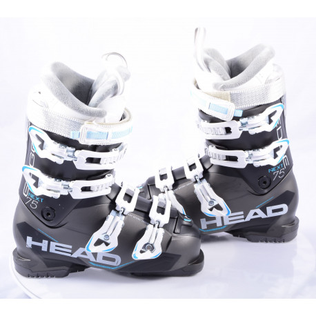 dámske lyžiarky HEAD NEXT EDGE 75, super macro, EASY entry, canting, ENERGY frame, black, micro, macro