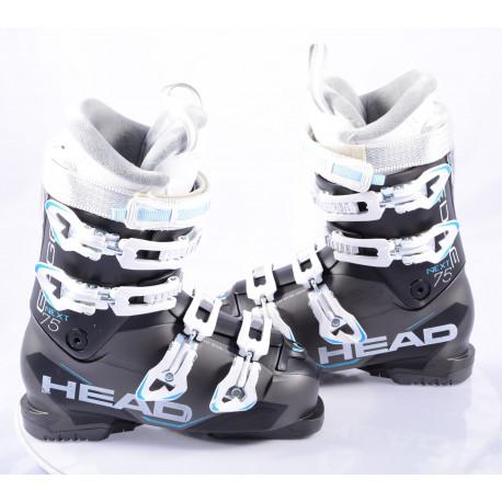 women's ski boots HEAD NEXT EDGE 75, super macro, EASY entry, canting, ENERGY frame, black, micro, macro